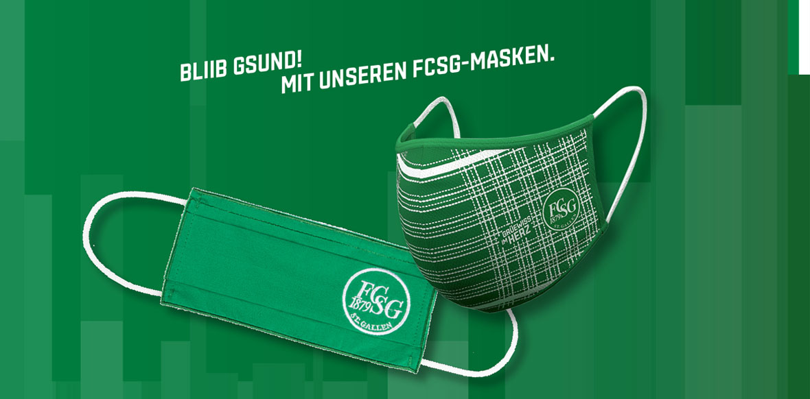 BISCHOFF AND THE FC ST. GALLEN TEXTILE MASK