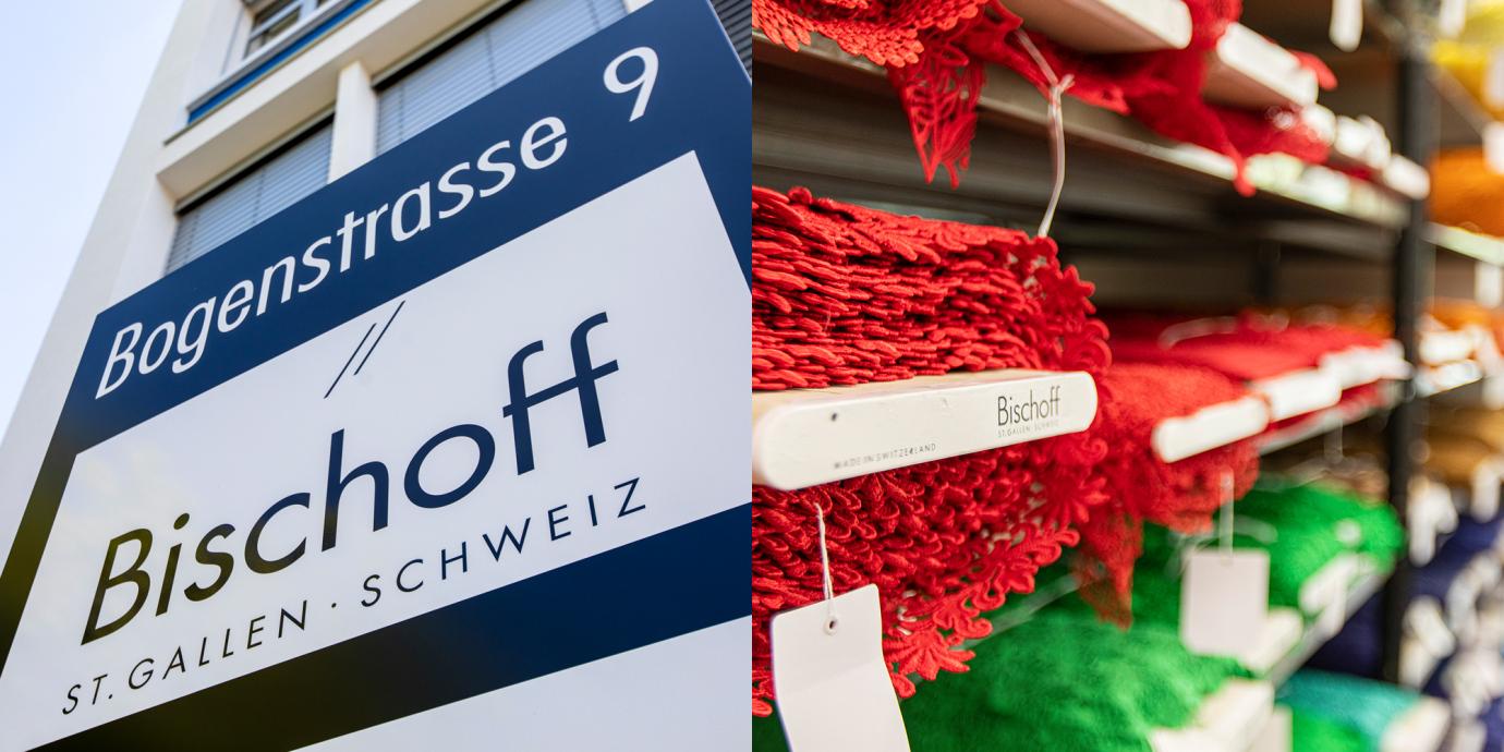 Bischoff Textil AG - Fabrikladen für Stickereien, Stoffe, Vorhangstoffe