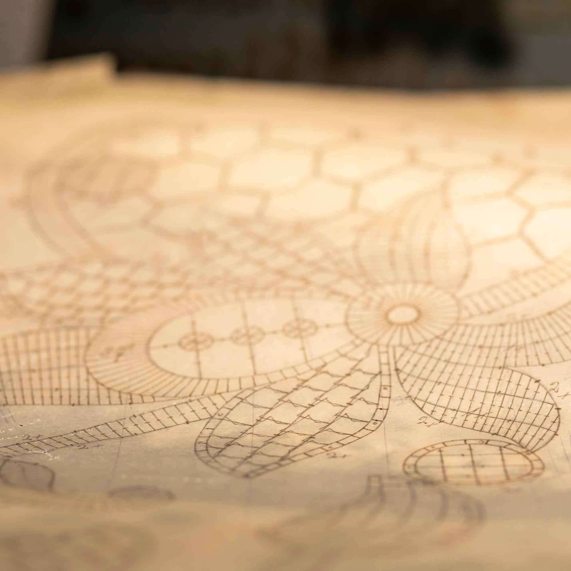 Bischoff Textil AG - Museum St. Gallen - Stickereien, Skizzen