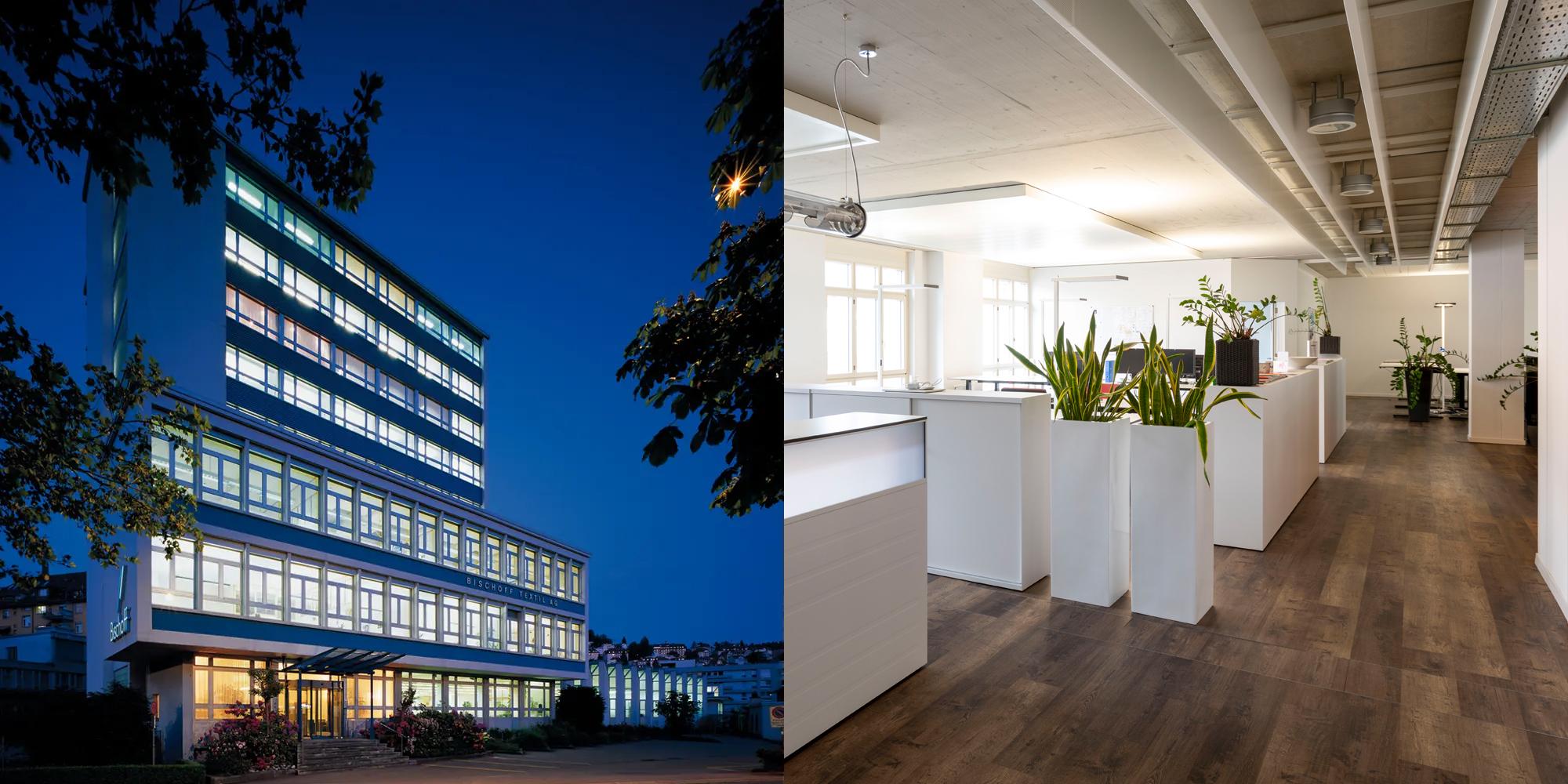 Bischoff Textil AG - Real estate St. Gallen